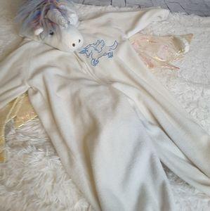 3/$30 Unicorn rainbow onesie Halloween size 2T